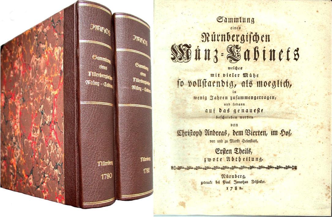 1780-1782 Imhof, C. A. Nürnbergisches Münz-Cabinet