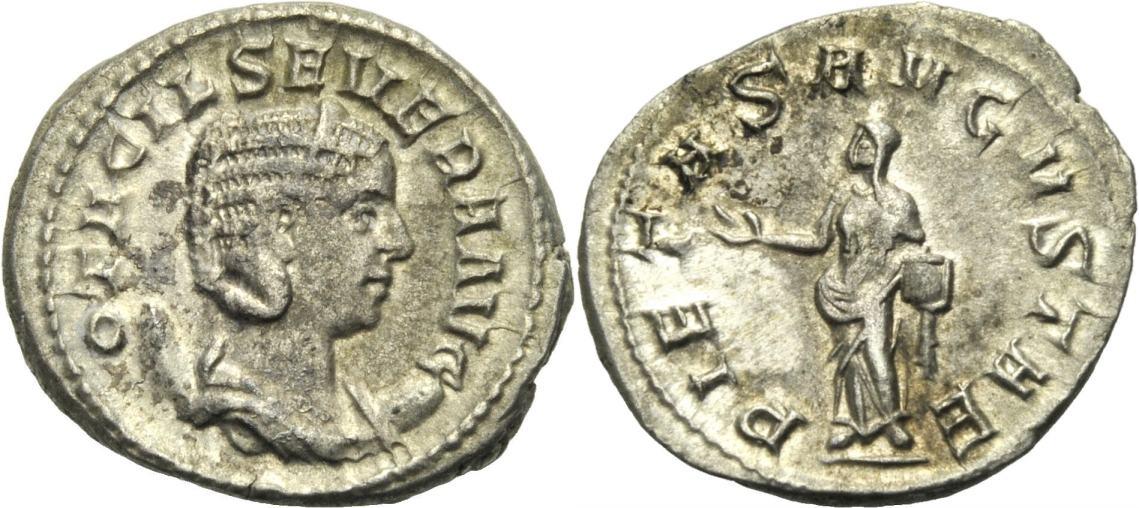Antoninian 246-248 ROM, KAISERZEIT OTACILIA SEVERA Sehr schön