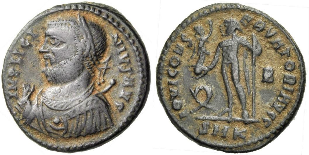 Nummus/Follis 317-320 ROM, KAISERZEIT LICINIUS I. Sehr schön