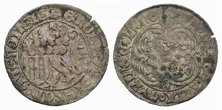 Schildgroschen 1428-1464 SACHSEN-MEISSEN Sehr schön