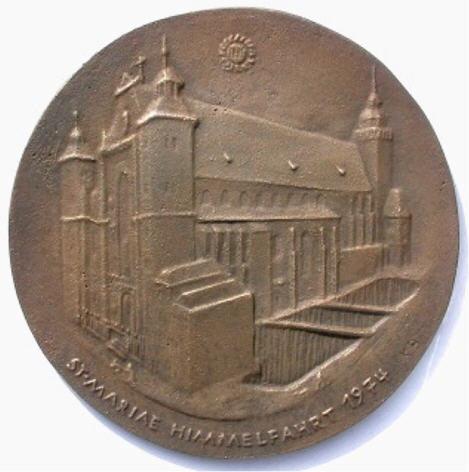 bronzemedaille 1974 k ln st mariae himmelfahrt vorz glich ma shops. Black Bedroom Furniture Sets. Home Design Ideas