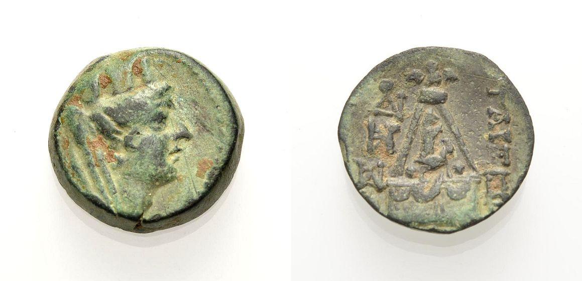 AE Bronze 2.-1. Jh. v. Ch GRIECHISCHE MÜNZEN KILIKIEN: TARSOS Sehr schön
