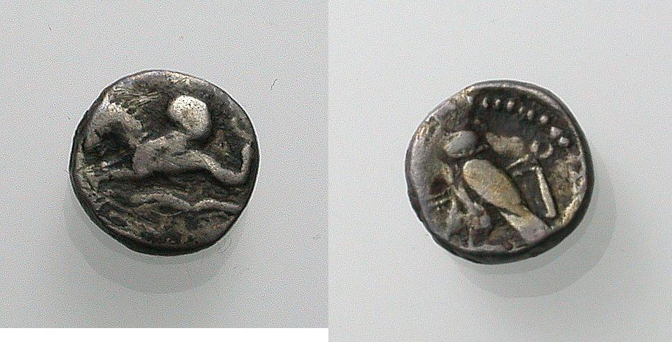 AR 1/24 Stater 400-332 v. Chr. GRIECHISCHE MÜNZEN PHOINIKIEN: TYROS Sehr schön