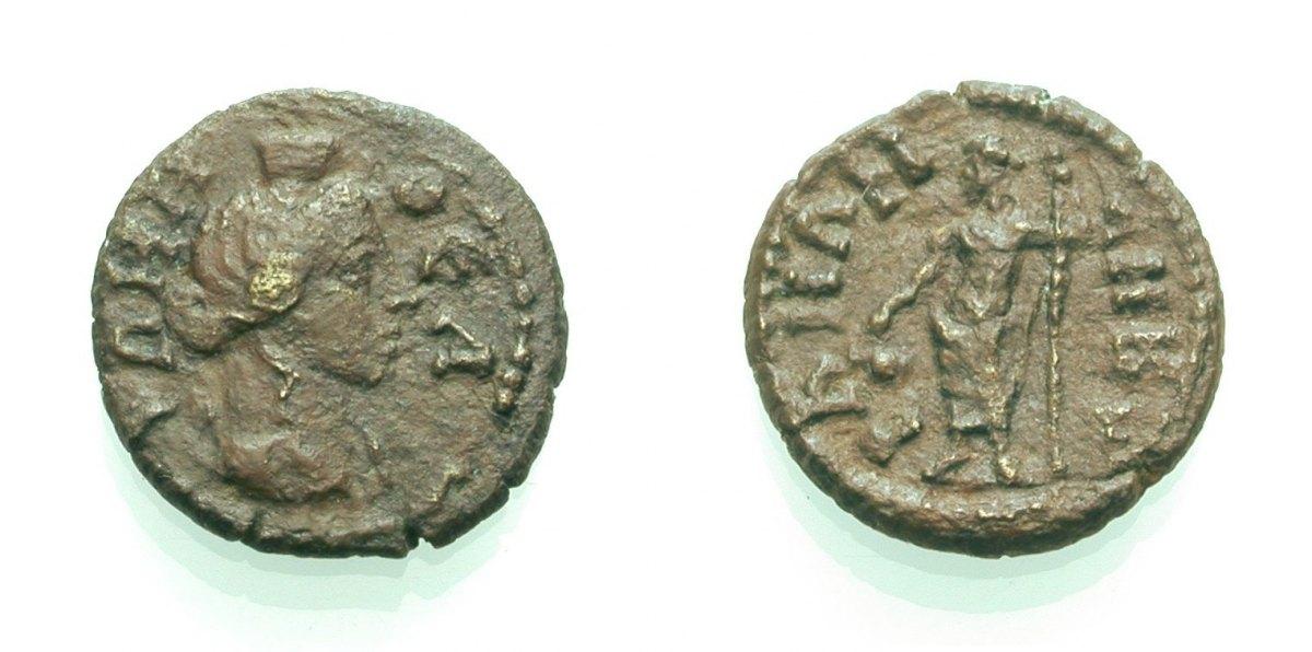 AE Bronze 193-217 GRIECHISCHE MÜNZEN UNTER ROM PHRYGIEN: ANKYRA, AUTONOM Sehr schön