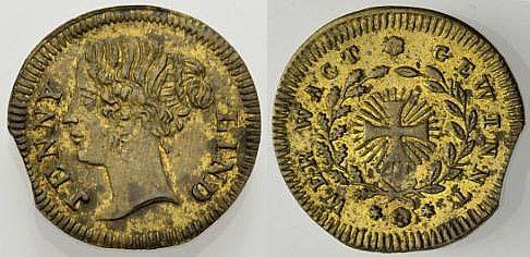 Spielmarke c. 1830-1901 GROßBRITANNIEN SPIELMARKE: VICTORIA Sehr schön