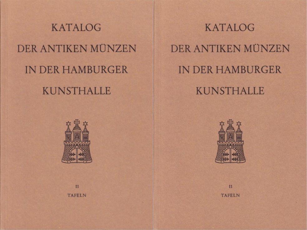 1976 POSTEL, R. KATALOG DER ANTIKEN MÜNZEN IN DER HAMBURGER KUNSTHALLE. II