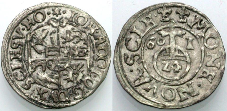 Gröschl 1601 SCHLESWIG-HOLSTEIN-GOTTORP JOHANN ADOLPH Sehr schön
