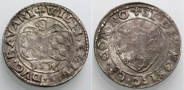 Groschen 1536 BAYERN Sehr schön