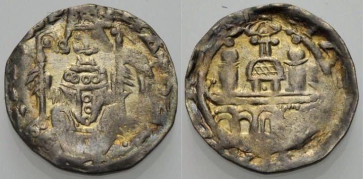 Pfennig 1167-1191 KÖLN Sehr schön
