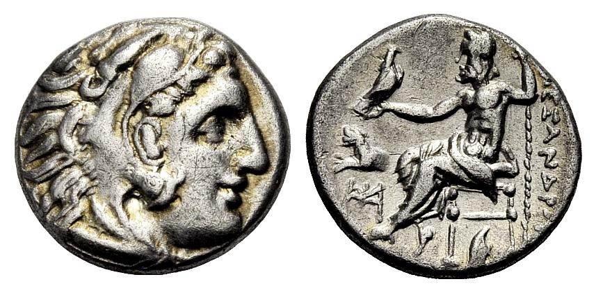 Ar Drachme 336 323 V Chr Griechische Münzen Alexander Iii Der