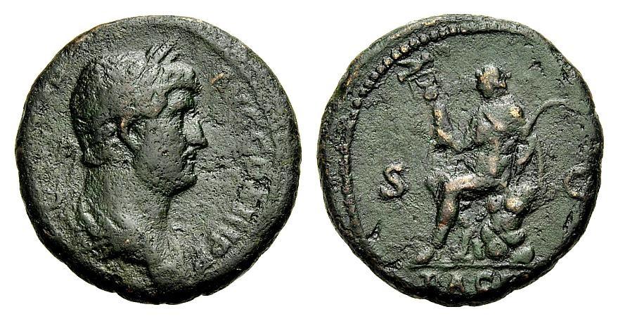 As 134-138 ROM, KAISERZEIT HADRIANUS Sehr schön