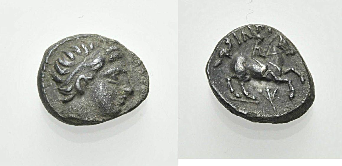 AR Tetrobol 359-336 v. Chr. GRIECHISCHE MÜNZEN PHILIPPOS II. Sehr schön
