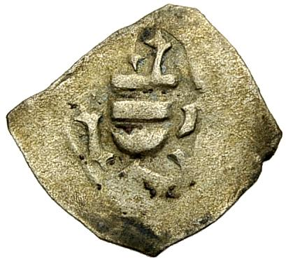 Einseitiger Pfennig 1430-1459 LEUCHTENBERG JOHANN III. Sehr schön