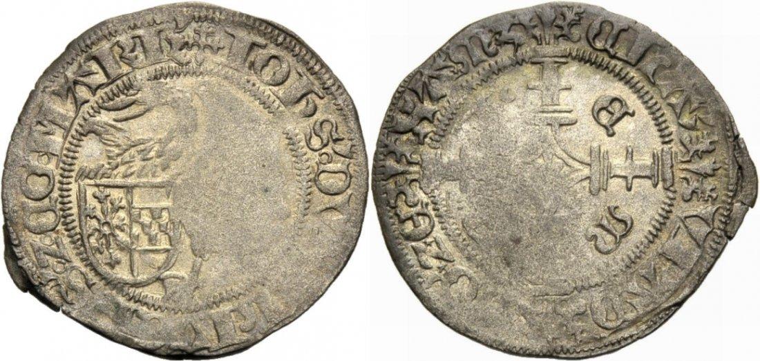 Schwanenstüber 1503 KLEVE. JOHANN II., 1481-1521. Prägeschwäche, sehr schön
