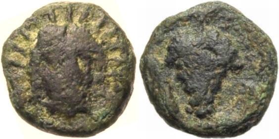 Kleinbronze 330-280 v.C GRIECHISCHE MÜNZEN KARIEN: KRANAOS Schön