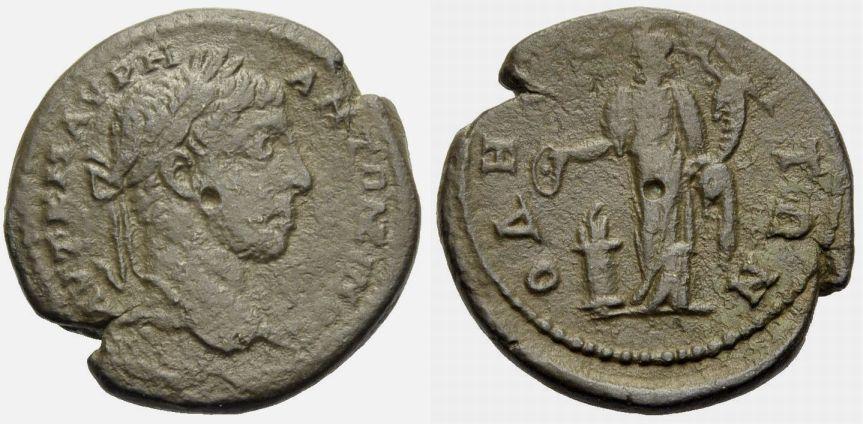 Bronze 218-222 MOESIA INFERIOR, ODESSOS ELAGABAL Schön-sehr schön