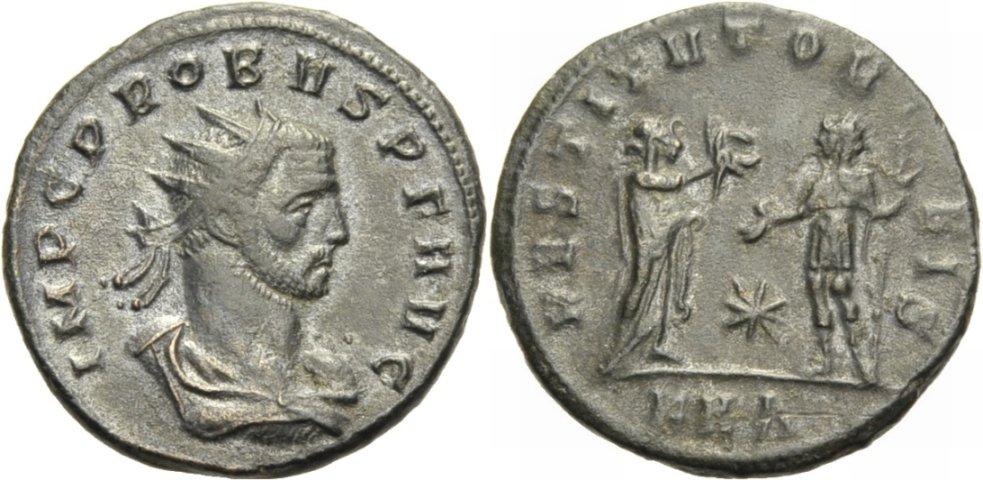 Antoninian. 276-282 ROM, KAISERZEIT PROBUS. Sehr schön- vorzüglich