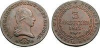 3 Kreuzer 1812 S ÖSTERREICH FRANZ I. Vorzüglich  45,00 EUR  zzgl. 3,00 EUR Versand