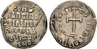 BYZANZ CONSTANTINUS VI., überprägt auf arabischen