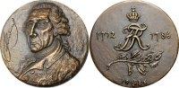 Friedrich II. Bronzemedaille (von Ernst Schomer)