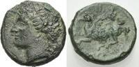 GRIECHISCHE MÜNZEN AE Kleinbronze SYRAKUS: TIMOLEON