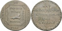 BRITISCHE TRADE TOKEN. Cu Halfpenny Token. MIDDLESEX: POLITICAL AND SOCIAL SERIES.