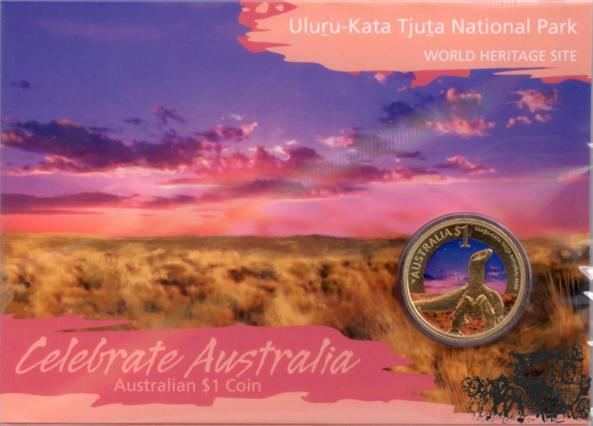 Australien 1 Dollar 2012 Nationalpark Bronze