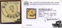 1 Kreuzer Maschinenpapier - Nr.1MIII
