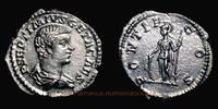 Roman Empire Denarius Geta Caesar, Rom, Denar, RIC 34b.