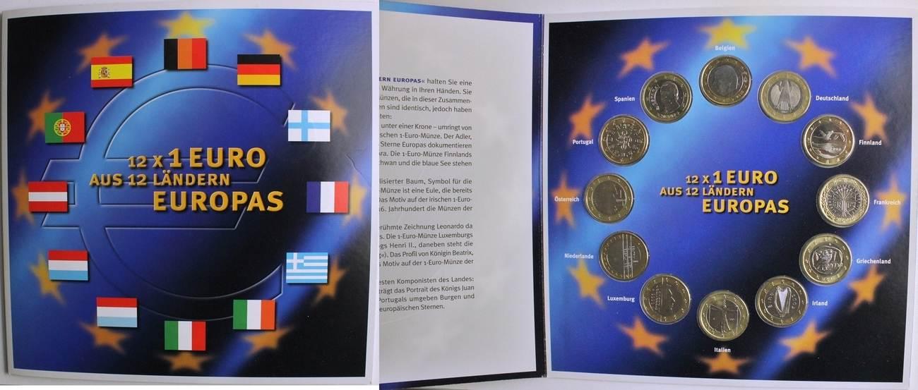 12 Euro 12 X 1 Euro Aus 12 Ländern Europas Ma Shops