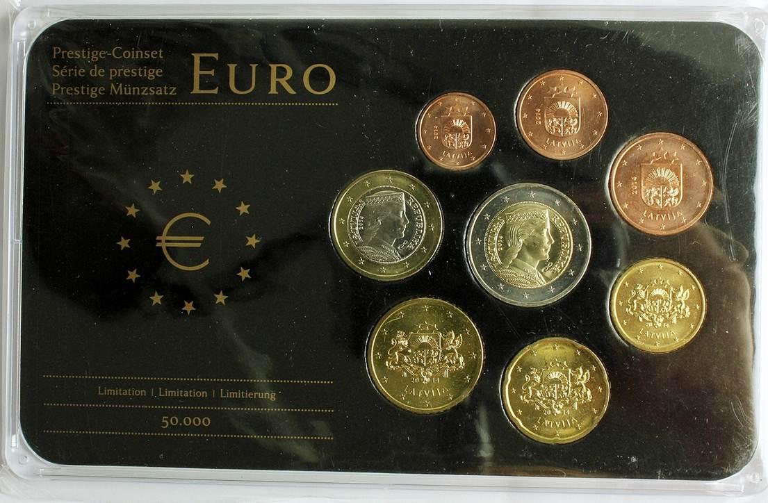 Kursmünzensatz Lettland Prestige Münzsatz Ma Shops
