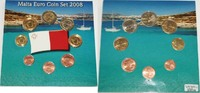 Malta 3,88 € Kursmünzensatz (Malta Euro Coin Set 2008)