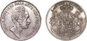 Riksdaler Specie 1846 Stockh Sweden Oscar I, 1844-59 vz