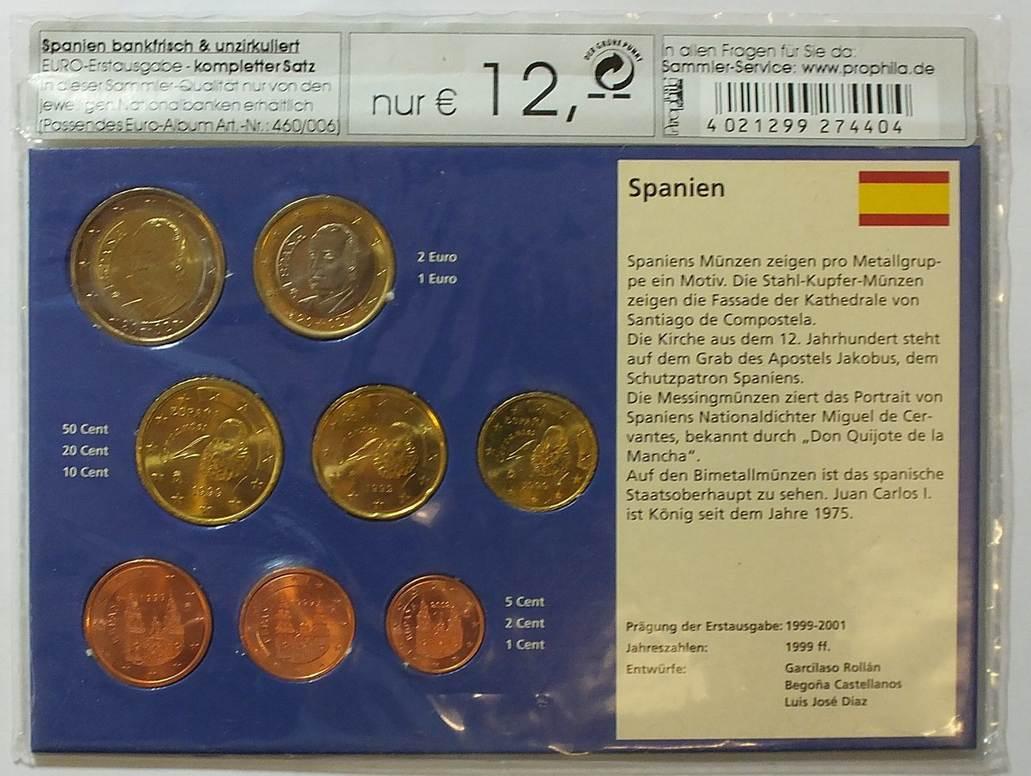Kms 1999 2002 Spanien Loser Kms Aus Spanien In Orginalverpackung
