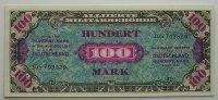Deutschland 100 Mark Ro. 269 c ohne F  9 stellig