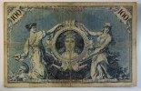 Deutsches Reich 100 Mark rotes Siegel, Rosenberg Nr. 33 A  Unterdruck Z, Serie C