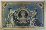 Deutsches Reich 100 Mark Rosenberg Nr. 30, Serie D