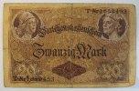 Deutsches Reich 20 Mark Rosenberg Nr. 49, Serie T, KN 7-stellig