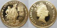 Cook Inseln 50 $ Gold Capt. James Cook .583 Gold 4,6 g