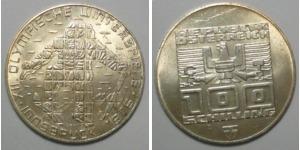 100 Schilling 1976 österreich Olympische Winterspiele 1976 Vz St