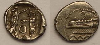 1/16 Shekel  Griechenland Phonicia, Sidon. ca. 372-361BC SS+VZ