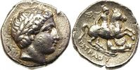 AR Tetradrachm 340-315 BC Griechenland Peo...