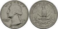 "Amerika 1/4 Dollar ""Quarter"" Präsident von Amerika 1981 ""Ronald Wilson Reagan"""