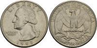 "Amerika 1/4 Dollar ""Quarter"" Präsident von Amerika 1993 ""George Herbert Walker Bush"" / ""Bill C"