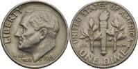 "Amerika 1 Dime Präsident von Amerika 1965 ""Lyndon Baines Johnson"""