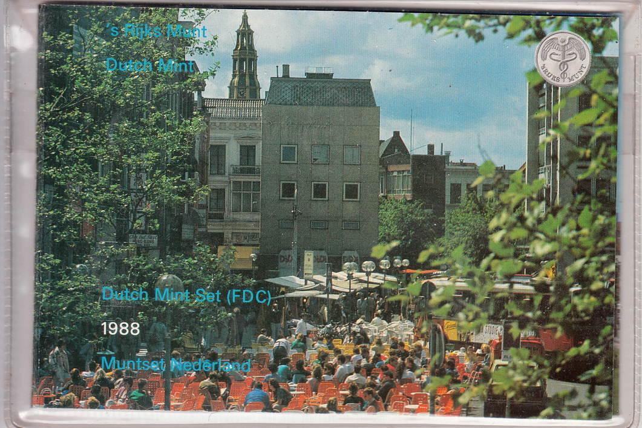 1988 Netherlands 8,90 Gulden Origin Set(6) Groningen Km Ss22