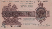 Great Britain 1 Pound HORSE P.361a
