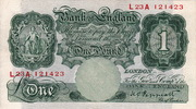 Great Britain 1 Pound BRITANNIA P.363c