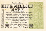 Germany 1.000.000 Mark ARMS P.102a