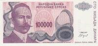 Surinam 1 Gulden ZILVERBON P.105d
